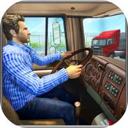 高速公路交通油卡车游戏