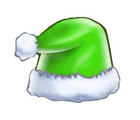 绿色的圣诞帽头像制作手机版