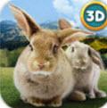 手机桌面养兔子软件