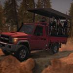 旋转轮胎LandCruiser70MOD