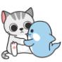 猫小爷和虎小鲸第四弹表情包