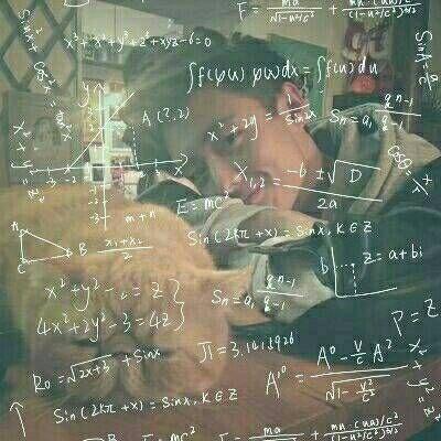 真人情侣头像带公式的 有数学公式的头像