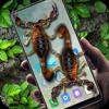 手机屏幕3d蝎子恶作剧