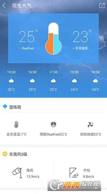 中国天气通 7.6安卓手机版