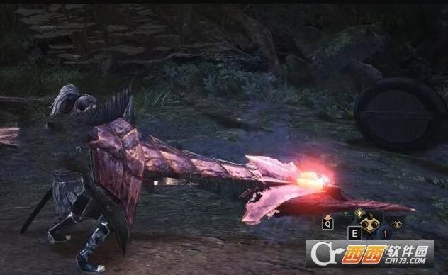 怪物猎人世界铳枪的爆裂魔法MOD