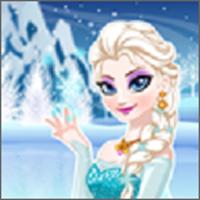 冰雪女王做美容