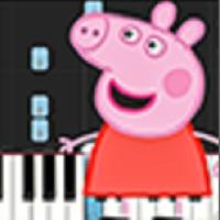 小猪佩奇钢琴块