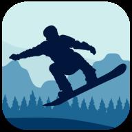 滑雪板骑士