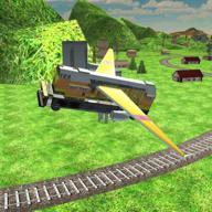 驾驶飞行列车