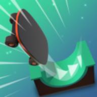 抖音滑滑板游戏(FlippySkate)