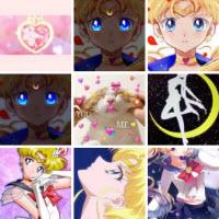 美少女战士蓝色眼睛壁纸