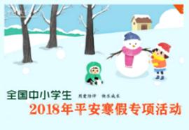 平安寒假专项活动