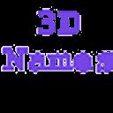 我在3d的名字软件