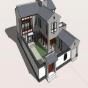 sketchup中式住宅建筑住宅SU模型