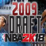 NBA2K18 2009选秀名单补丁
