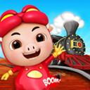 猪猪侠开火车游戏