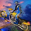 彩色特技竞速摩托游戏