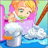 宝宝爱整理打扫