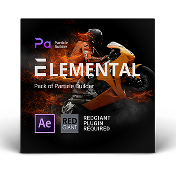 Particle Builder元素组件包Elemental Pack
