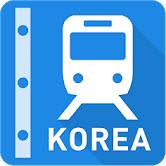 韩国铁路线图