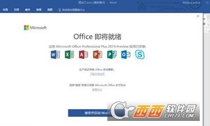 office 2019中文专业增强版