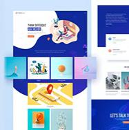 100套高质量网页设计模板