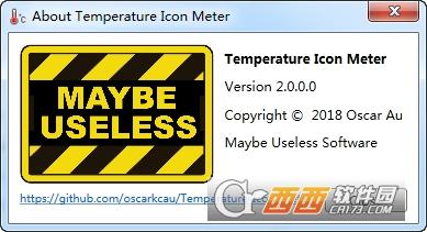 电脑硬件温度监控软件(Temperature Icon Meter)