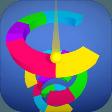 彩球跳塔(螺旋跳跃)v1.1安卓版