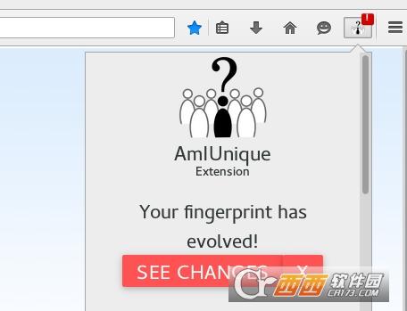 浏览器指纹监测插件AmIUnique