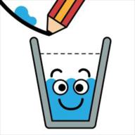 抖音画线水进杯子游戏(Happy Glass)v0.2 最新版