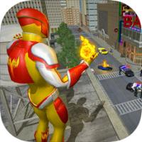 真正的城市超级英雄消防员