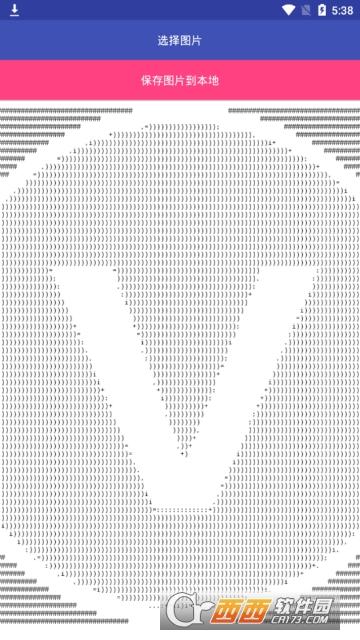 抖音超火字符画生成软件