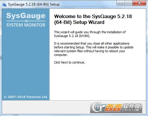 SysGauge(免费系统性能监视器) 5.2.18官方版