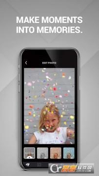 Polaroid Snaptouch app