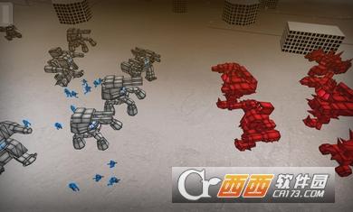 火柴人机械机器人战斗模拟器