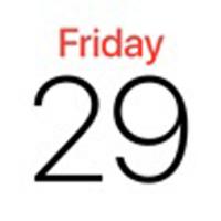 2020简单日历