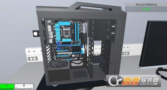 电脑装机模拟器单独免dvd补丁 v1.1 PLAZA版