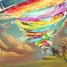 老船动画吧-粒子龙卷风生成动画工具