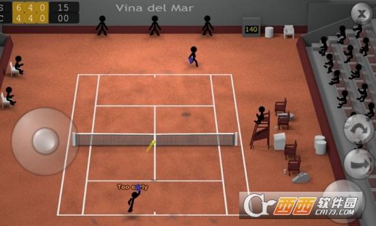 经典火柴人网球(Stickman  Tennis)