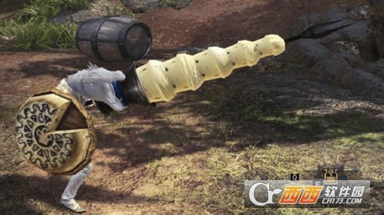 怪物猎人世界奶酪火锅长枪MOD v1.0 绿色版