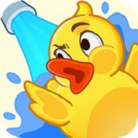 溅起小黄鸭