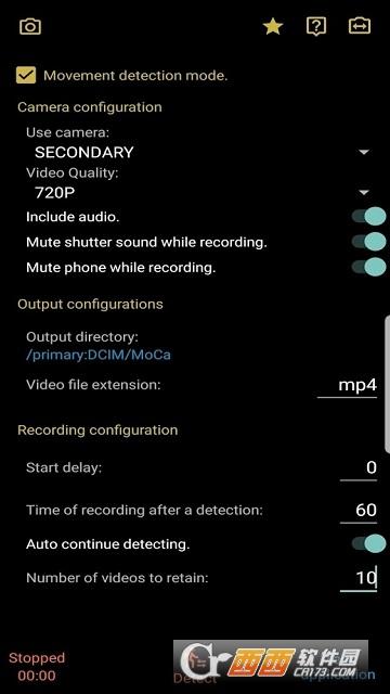 运动检测相机(MoCa Free) v4.2 大发快三官网