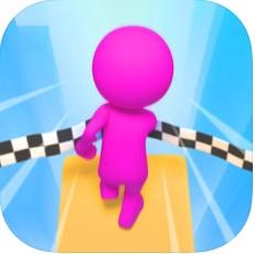 抖音降落赛跑游戏(Fall Race 3D)
