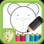 儿童涂鸦涂色画画板app