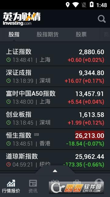 英为财情财经投资 6.3.1