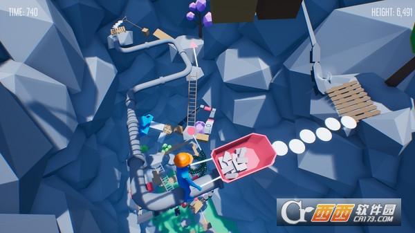 Climb With Wheelbarrow爬上独轮车 PC镜像版