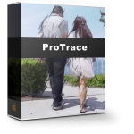 FCPX素描油墨水彩卡通漫画效果插件ProTrace Volume