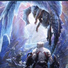 怪物猎人世界冰原雪花初音未来MOD
