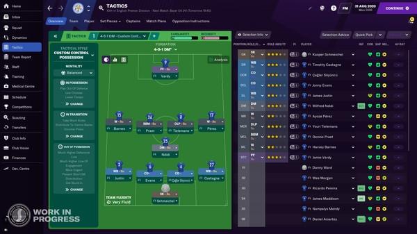足球经理2021PC版 官方中文版