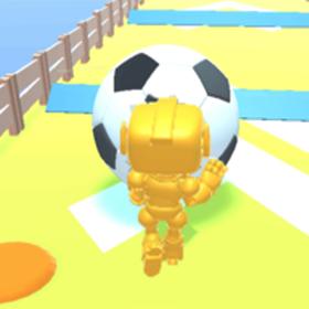 机器人推球游戏